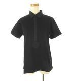 エポカ ウォモ EPOCA UOMO ポロシャツ 半袖 黒 ブラック コットン 46 トップス 無地 美品