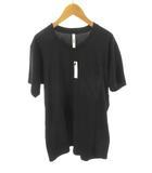 アタッチメント ATTACHMENT Tシャツ 半袖 ポケット ポケT AJ72-218 黒 ブラック 無地 コットン 3 トップス