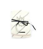 ダブルスタンダードクロージング ダブスタ DOUBLE STANDARD CLOTHING タオル 丸型 ロゴ 刺繍 ベージュ グレー 直径65cm ノベルティ
