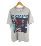シュプリーム SUPREME Tシャツ 半袖  Liquid Swords Tee GZA ウータン プリント グレー コットン S 18AW 美品