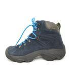 キーン KEEN トレッキングシューズ ブーツ ピレニーズ Pyrenees WMN Blue Nights 紺 ネイビー スエード レザー US7 24cm 靴