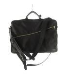 ポーター PORTER 3WAY ショルダーバッグ ビジネスバッグ ブリーフケース バックパック リュックサック 822-07562 黒 ブラック 極美品 鞄