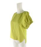 ノーリーズ Nolley's 半袖 シャツ ブラウス 黄色 イエロー 36 トップス