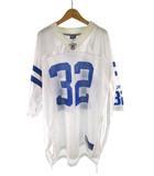 リーボック Reebok ユニフォーム ゲームシャツ NFL アメフト JAMS 32 白 ホワイト 青 ブルー XL