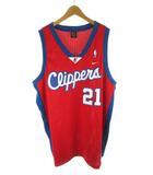 ナイキ NIKE バスケシャツ ユニフォーム ゲームシャツ Clippers ロサンゼルス クリッパーズ MILES 21 ダリアス マイルズ XXL 大きめ