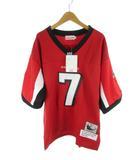 mitchell&NESS ミッチェル&ネス ユニフォーム  ゲームシャツ FALCONS ファルコンズ VICK 7 NFL フットボール 赤 レッド 48