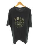 ポロ バイ ラルフローレン Polo by Ralph Lauren Tシャツ 半袖 NEW YORK ニューヨーク 黒 ブラック コットン XL トップス