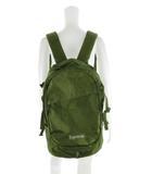 シュプリーム SUPREME バックパック リュックサック BackPack ロゴ 刺繍 総柄 オリーブ olive グリーン 緑 鞄 19SS 半タグ ステッカー付き