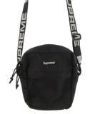 シュプリーム SUPREME ショルダーバッグ サコッシュ 斜め掛け ロゴ 刺繍 ブラック 黒 ホワイト 白 ナイロン 鞄 18SS 美品