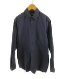 フランクリーダー FRANK LEDER ステンカラ―コート シャツ ジャケット 長袖 0914110 紺 ネイビー コットン XS