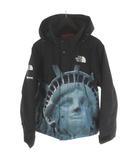 シュプリーム SUPREME ノースフェイス NORTH FACE STATUE Of Liberty MOUNTAIN JACKET マウンテンジャケット 自由の女神 NP619021 黒 ブラック S 19AW