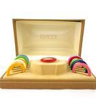 グッチ GUCCI チェンジベゼル  ウォッチ 腕時計用 箱 BOX 純正 1100-L マルチカラー カラフル 付属品