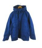 ギャップ GAP マウンテンパーカー ジャケット ブルゾン ライナー脱着可能 中綿 青 ブルー S アウター