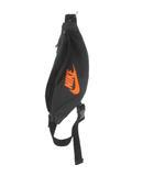ナイキ NIKE ウエストバック ボディバッグ ヒップバッグ 斜め掛け ダークグレー オレンジ 鞄