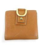 グッチ GUCCI 二つ折り財布 ウォレット 141411 GG柄 レザー  ブラウン ゴールド金具 小物