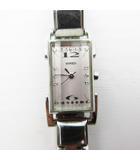 ワイアード WIRED ウォッチ 腕時計 スクエア クォーツ 1n01-0jZ0 シルバー 白 ホワイトシェル文字盤