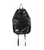 ポーター PORTER JAM ジャム バックパック デイパック リュックサック PVC 黒 ブラック 鞄