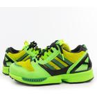 アディダス adidas スニーカー atmos アトモス ZX 8000 G-SNK 3 ゼットエックス  FX8593 グリーン イエロー ハラコ US6.5 24.5cm 靴