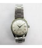 腕時計 ウォッチ Sportsman セイコースポーツマン Diashock 17石 手巻き デイト シルバー ビンテージ オールド