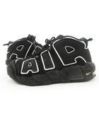 ナイキ NIKE AIR MORE UPTEMPO (GS)/エアモアアップテンポ/ブラック 黒 415082-002 US7Y 25cm 靴