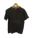 ナンバーナイン NUMBER (N)INE Tシャツ 半袖 ロゴ プリント 茶 ブラウン コットン 2 トップス 有限会社 クークス