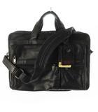 トゥミ TUMI 2WAY レザー ブリーフケース ショルダーバッグ トート ビジネス 黒 ブラック レザー 96041D4 鞄