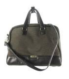 トゥミ TUMI 2WAY ブリーフケース トート ハンド ショルダーバッグ ビジネス 43261CHR オリーブ グリーン ブラック レザー キャンバス 鞄