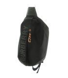 バーバリー BURBERRY ボディバッグ SONNY バムバッグ ウエストバッグ ロゴ 8025668 黒 ブラック ナイロン 鞄