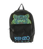 ケンゾー KENZO バックパック リュックサック デイパック 虎 トラ タイガー ロゴ 刺繍 ブラック ブルー グリーン イエロー 鞄 ケンゾーパリジャパン株式会社