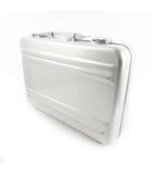 ゼロハリバートン ZERO HALLIBURTON アタッシュケース バッグ CEM-PS ポリッシュシルバー クリアハンドル  41cm×30cm×9cm 鞄