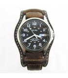 セイコー SEIKO ALBA アルバ TITANIUM 腕時計 ウォッチ 7n43-0ae0 アナログ クォーツ 20BAR デイデイト 黒 ブラック 動作確認済