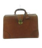 ポールスミス PAUL SMITH ダレスバッグ ビジネスバッグ ブリーフケース オールレザー 茶 ブラウン ゴールド金具 鞄 オールド ビンテージ