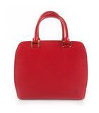 ハンドバッグ M52057 ポンヌフ エピ レザー カスティリアンレッド 赤 鞄 美品