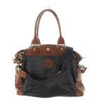 オロビアンコ OROBIANCO WANDALA SMALL ワンダラ スモール ビジネス トート ショルダーバッグ 2WAY 千鳥格子柄 紺 ネイビー 茶 ブラウン 鞄