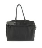 アニエスベー ボヤージュ Agnes b. VOYAGE ハンドバッグ ブリーフケース ビジネスバッグ ナイロン レザー  黒 ブラック 鞄