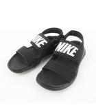 ナイキ NIKE WMNS TANJUN SANDAL ウィメンズ タンジュン サンダル 882694 001 黒 ブラック US6 23cm 靴