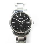 グランドセイコー GRAND SEIKO 腕時計 ウォッチ Ref.9F62-0AB0 SBGX061 デイト クォーツ 黒 ブラック シルバー 付属品あり