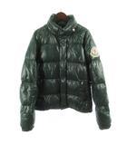 モンクレール MONCLER ダウンジャケット EVEREST エベレスト デカワッペン ナイロン 緑 グリーン 1 国内正規品 スープリームス アウター