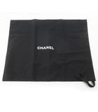 シャネル CHANEL 保存袋 巾着 純正 現行 鞄 バッグ 布袋 付属品 49cm×38cm
