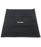 シャネル CHANEL 保存袋 巾着 純正 現行 鞄 バッグ 布袋 付属品 大きめ 54cm×52cm
