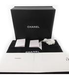シャネル CHANEL 保存箱 空箱 マグネット式 保存袋 フルセット 冊子 カメリア クリーナー 付属品 純正 現行 バッグ 鞄 34cm×27cm×12cm