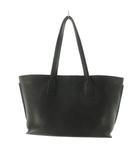 トートバッグ アナグラム 黒 ブラック 紺 ネイビー 46cm×24cm×15cm レザー 鞄