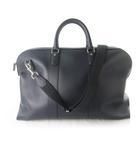 ボストンバッグ ショルダー 旅行鞄 トラベル 2WAY 大きめ 57cm×35cm×22cm 紺 ネイビー