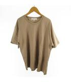 アーバンリサーチ URBAN RESEARCH Tシャツ 半袖 オーバーサイズ ライトブラウン 茶 コットン M トップス