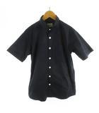 ビームス BEAMS シャツ 半袖 11-01-1043-803 紺 ネイビー M トップス