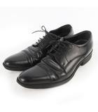 ビジネスシューズ ストレートチップ レザー 黒 ブラック 26cm 革靴