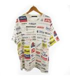 ルイヴィトン LOUIS VUITTON 19AW All Over Logo Printed T-shirt オールオーバー ロゴ Tシャツ ホワイト マルチ XXL ルイヴィトンジャパン(株)
