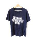 ホワイトマウンテニアリング White Mountaineering Tシャツ カットソー 半袖 プリント ネイビー 2 M SSS8