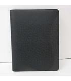ルイヴィトン LOUIS VUITTON ブックカバー アジェンダ ビューロー 手帳カバー レザー ブラック R20409