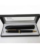 モンブラン MONT BLANC ボールペン マイスターシュテュック ゴールドコーティング クラシック 黒 ブラック